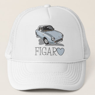 Nissan Figaro Pale Aqua Trucker Hat