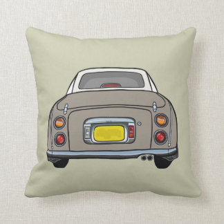 Nissan Figaro Pillow Cushion - Topaz Mist