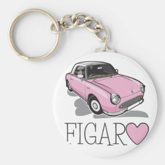 Nissan Figaro Pink Key Ring