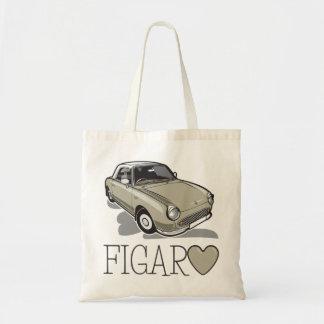 Nissan Figaro Topaz Mist Tote Bag