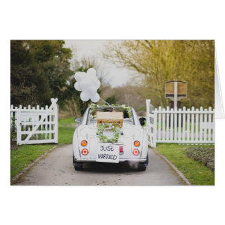 Nissan Figaro Wedding Car Card