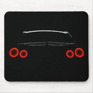 Nissan GT-R Rear Lights Mouse Mat