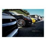 Nissan GT-R Skyline Photo Shoot R35, R34, R33, R32 Posters
