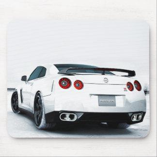 Nissan GT-R White Mouse Mat