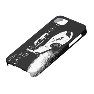 Nissan Skyline GTR with City Lights Backdrop iPhone 5 Covers