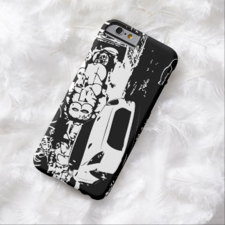Nissan Skyline GTR with Graffiti Backdrop Barely There iPhone 6 Case