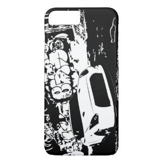 Nissan Skyline GTR with Graffiti Backdrop iPhone 7 Plus Case