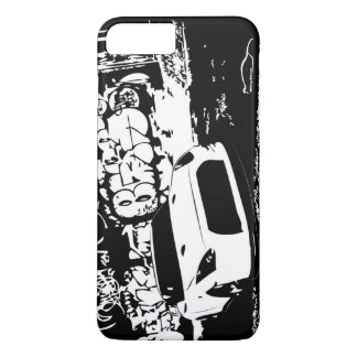 Nissan Skyline GTR with Graffiti Backdrop iPhone 8 Plus/7 Plus Case