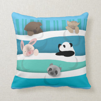 Nite Nite Sleeping Animals Cushion