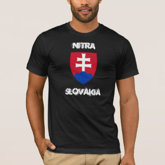 Nitra, Slovakia with coat of arms T-Shirt