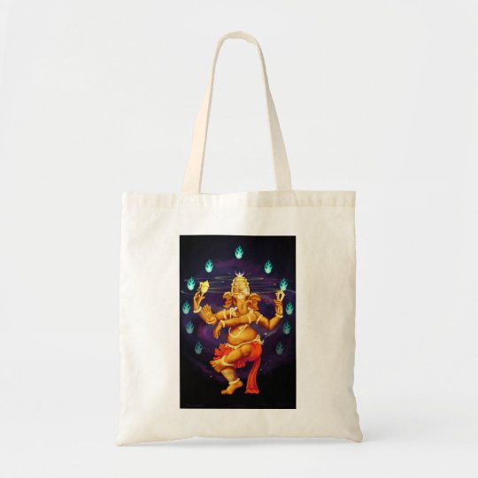 Nitraja Ganesha canvas bag