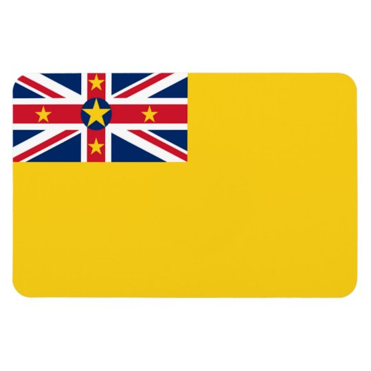 Niue Flag Rectangular Photo Magnet