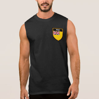Niue Flag Sleeveless Shirt