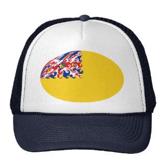 Niue Gnarly Flag Hat