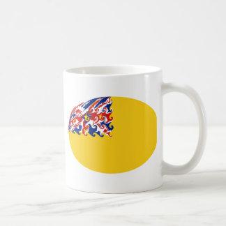 Niue Gnarly Flag Mug