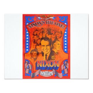 Nixon 11 Cm X 14 Cm Invitation Card