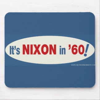 Nixon-1960 - Customized Mouse Pad