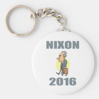Nixon 2016 basic round button key ring