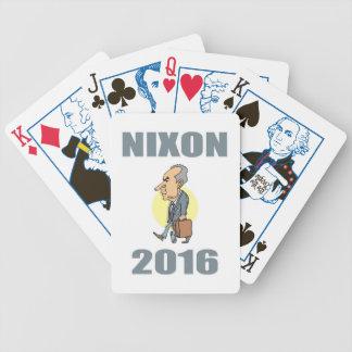 Nixon 2016 bicycle playing cards