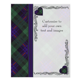 Nixon clan Plaid Scottish kilt tartan 11.5 Cm X 14 Cm Flyer