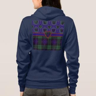 Nixon clan Plaid Scottish kilt tartan Hoodie