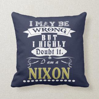 NIXON is the BEST Cushion