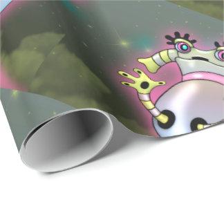 NIXXIE ROBOT CUTE CARTOON FUNNY Wrapping Paper