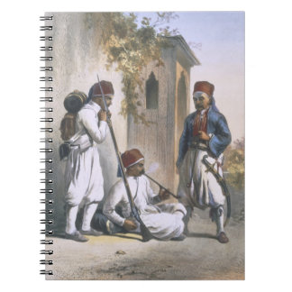 Nizamior, Regular Troops of the Turkish Army at Ka Notebooks