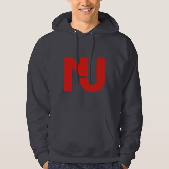 NJ Graphic (Red) Hoodie