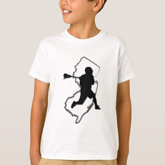 NJ Lacrosse Kid's T T-Shirt
