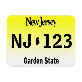 NJ License Plate Magnet
