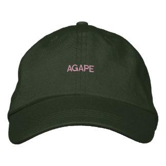Njoku Agape Logo Dark Green Cap. Baseball Cap