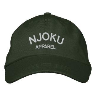 Njoku Apparel Logo Dark Green Cap. Embroidered Hat