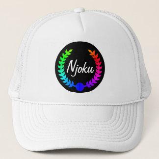 Njoku Colourful 'Wreath' Hat. Trucker Hat