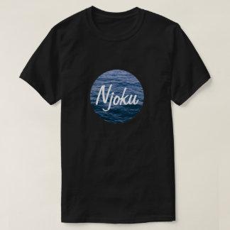 Njoku Ocean 'Circle' Logo Black T-Shirt #3.