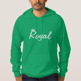 Njoku Royal 'Crown' Green Hoodie. Hoodie
