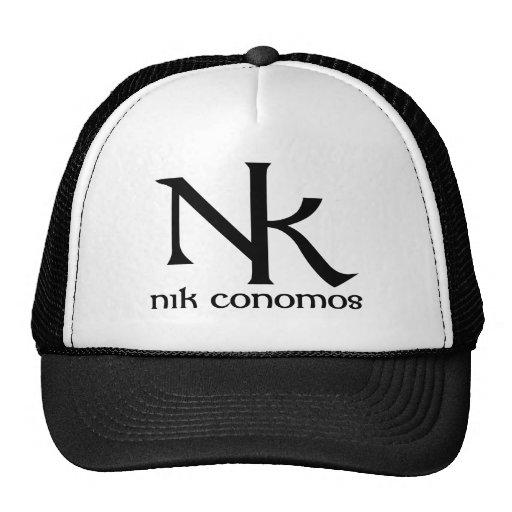 NK - Classic Logo Truckers Cap Mesh Hat