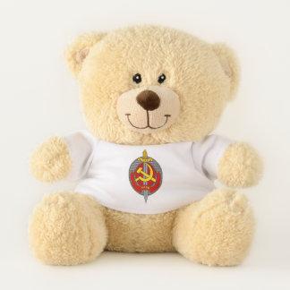 NKVD badge sign symbol Teddy Bear