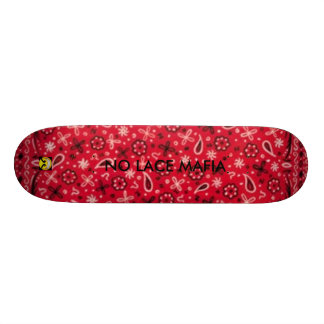 nlm hood, SMILE2, NO LACE MAFIA Skate Boards