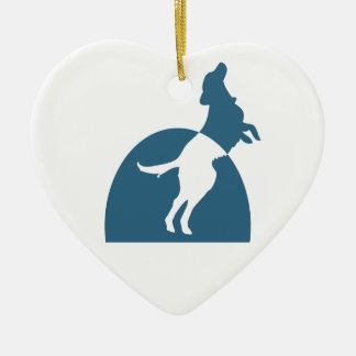NMDR Heart Ornament (2-sided)
