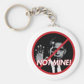 NMP-keychain Basic Round Button Key Ring