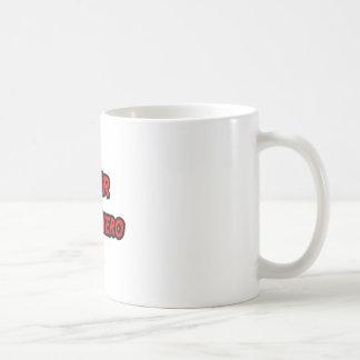 NMR Superhero Basic White Mug