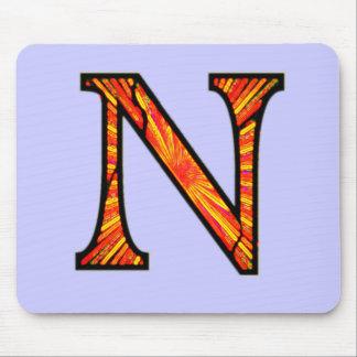 Nn Illuminated Monogram Mouse Pad