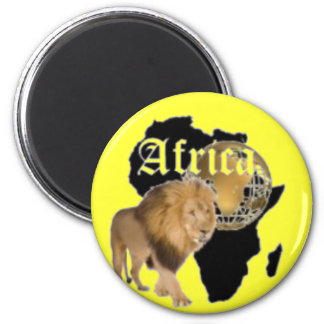 No1 African  T-shirt And Etc Fridge Magnet