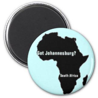 No1 Johannesburg,South Africa  T-shirt And Etc 6 Cm Round Magnet