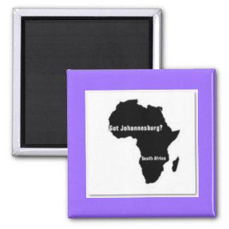 No1 Johannesburg,South Africa  T-shirt And Etc Square Magnet