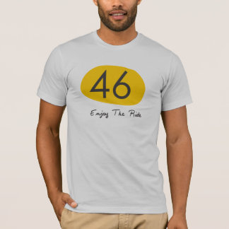 No46 Enjoy The Ride Tee