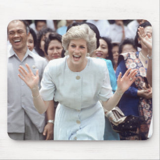 No.100 Princess Diana Indonesia 1989 Mouse Mat
