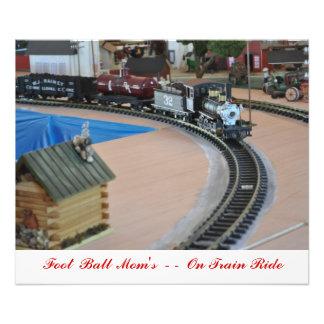 No 1025 - No - 32 Train Foot Ball Mom s Photo