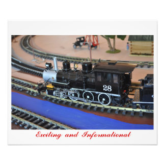 No 106 - Small Train - Exciting Beautiful Photo Print